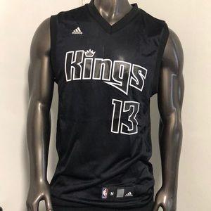 NBA Adidas kings jersey #13 Evans